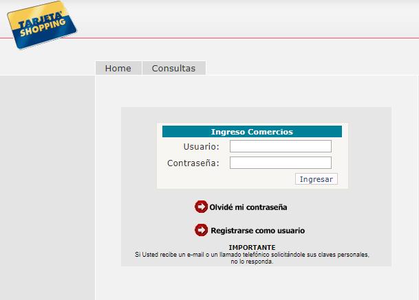 ¿Cómo Solicitar Tarjeta Shopping Visa Online?